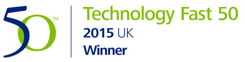 Deloitte TECHNOLOGY FAST 50 UK Winner Logo