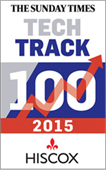 The Sunday Times Hiscox TECH TRACK 100  Logo
