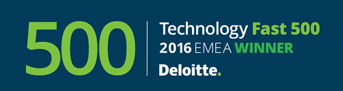 Deloitte TECHNOLOGY FAST 500 EMEA Winner