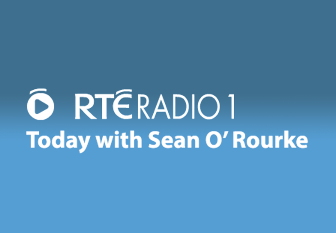 PFS CEO, Noel Moran, live in studio on RTÉ Radio 1's Today with Sean O'Rourke show