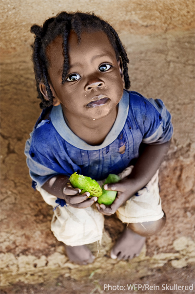 WFP little girl in mali
